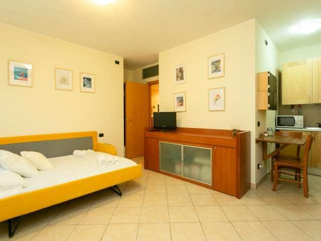 Accogliente monolocale in affitto a Bicocca, Milano