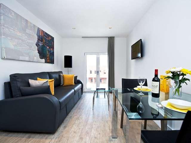 Serviced 1-Bedroom Apartment for rent in Deptford, London