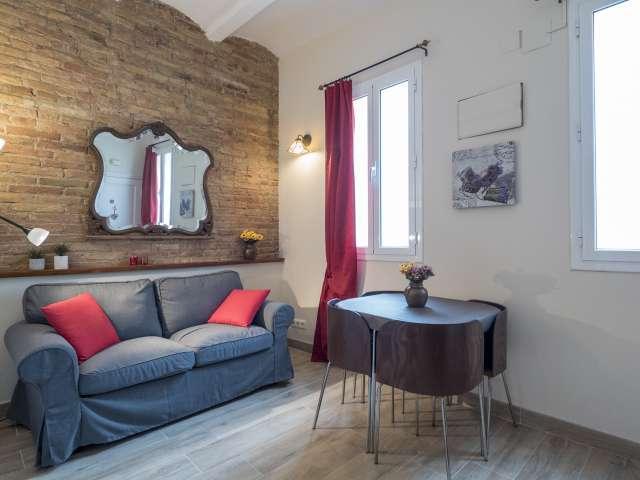 1-Zimmer-Wohnung zur Miete in Vila Olímpica, Barcelona