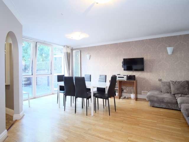 Spacious 3-bedroom flat to rent in Islington