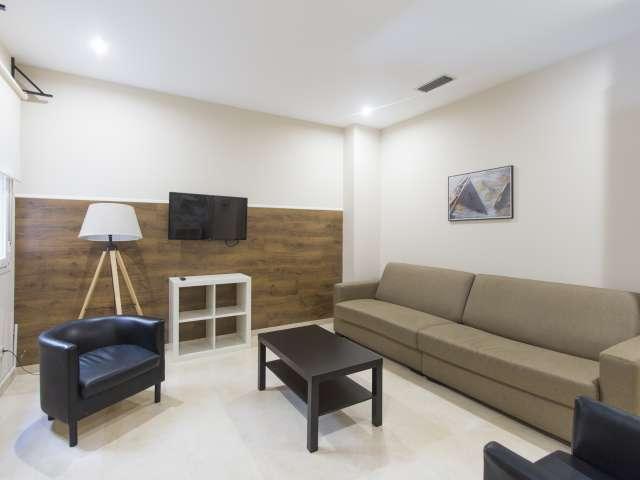 Scharfe 1-Zimmer-Wohnung zur Miete in Centro, Madrid