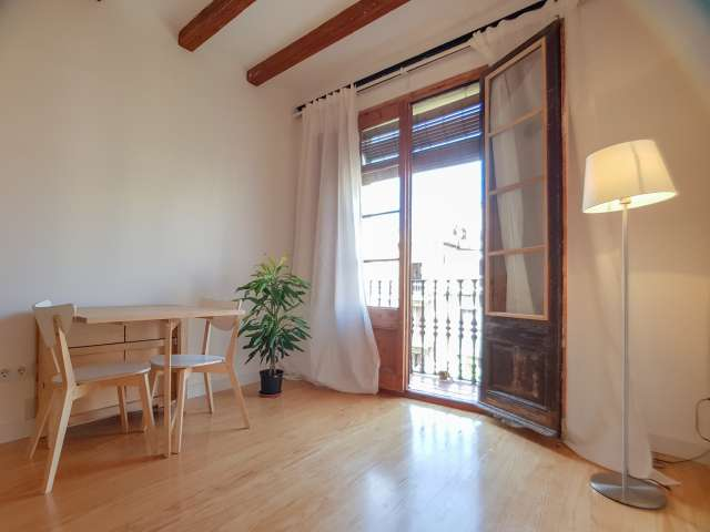 Spazioso appartamento con 1 camera da letto in affitto a Eixample, Barcellona