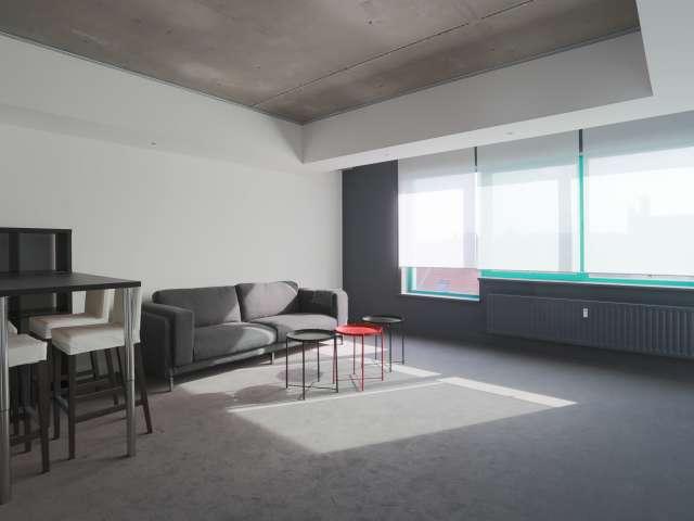 Modern studio apartment for rent in Anderlecht, Brussels
