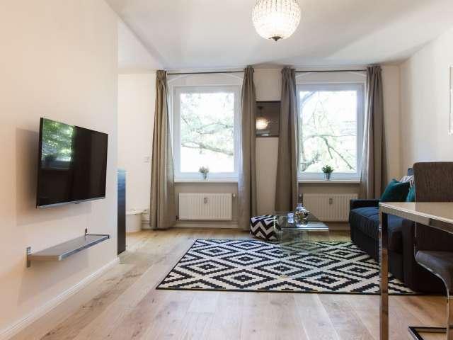 Inviting 1-bedroom apartment for rent in Moabit, Berlin