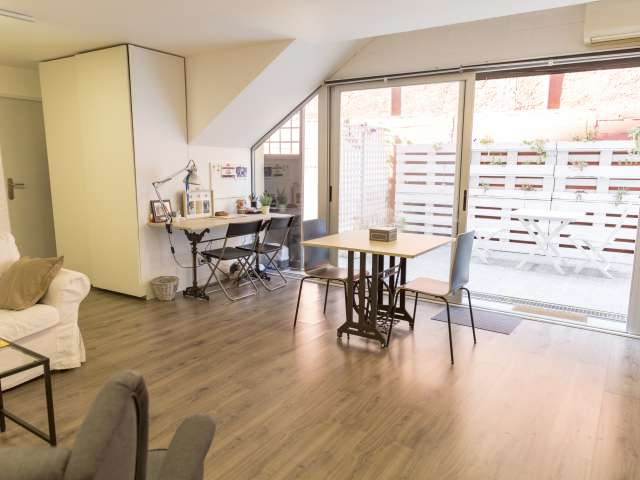 Charming studio apartment to rent in Sant Cugat del Vallès