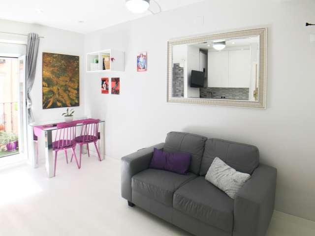 Vibrant Studio Wohnung zu vermieten in Lavapiés, Madrid