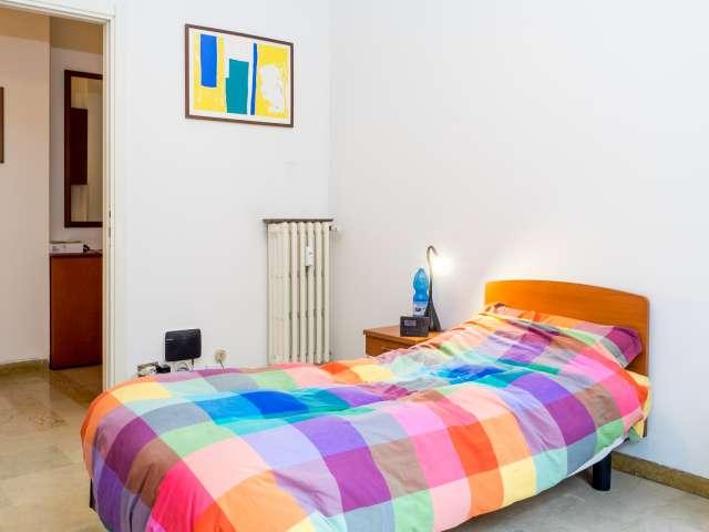 Stanza condivisa in appartamento condiviso in Porta Romana