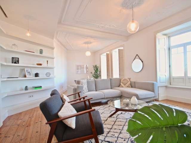 Apartamento de 3 quartos para alugar em Santo António, Lisboa