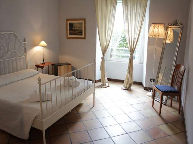 Spazioso appartamento con 2 camere da letto in affitto nel centro storico