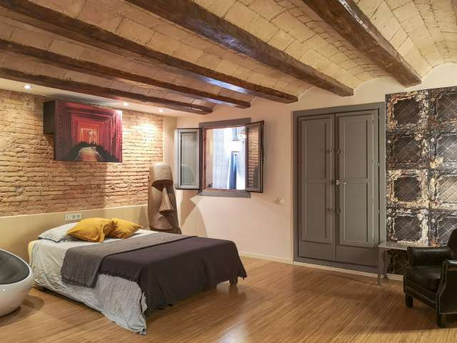 Chic studio apartment to rent in El Raval, Barcelona