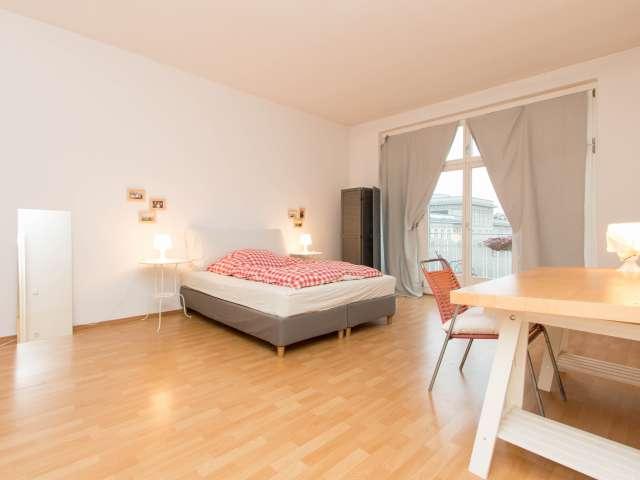 Geräumige Wohnung mit 1 Schlafzimmer in Berlin zu vermieten