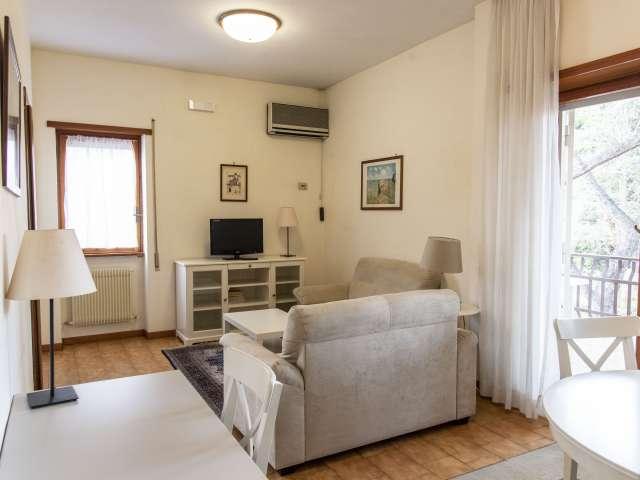 Accogliente appartamento con 2 camere da letto in affitto a Torrino, Roma