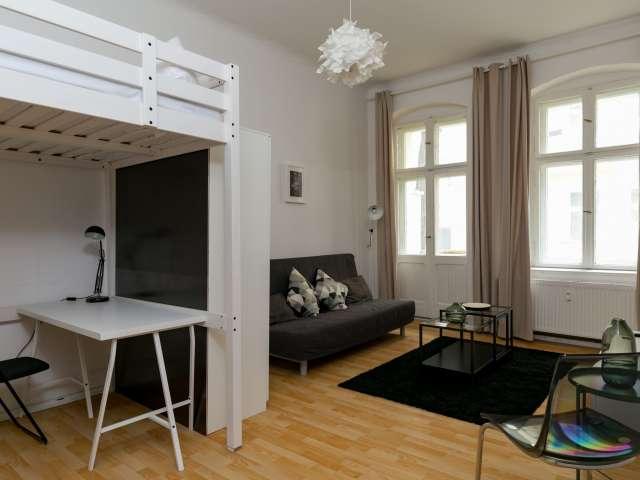 Helles Studio-Wohnung in Prenzlauer Berg, Berlin