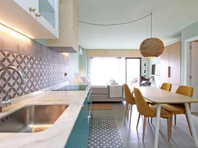 Studio apartment for rent in El Guinardó, Barcelona