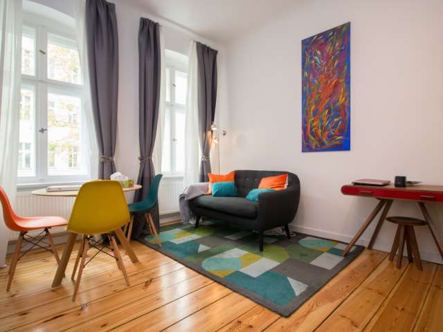 Charmante 1-Zimmer-Wohnung zu vermieten in Prenzlauer Berg, Berlin