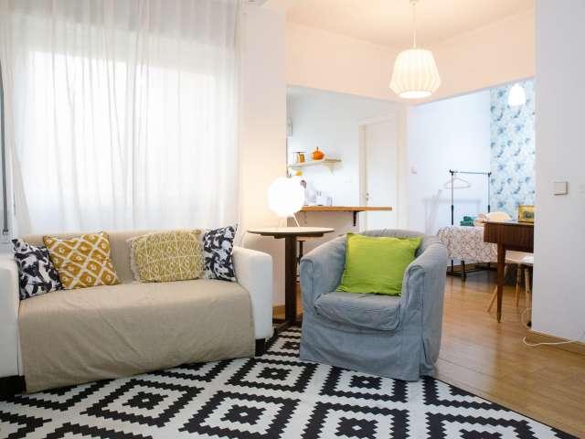 Apartamento chique para alugar em Arroios, Lisboa