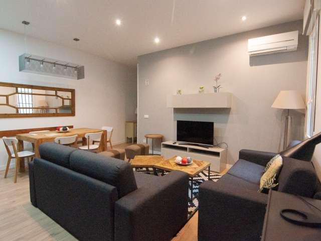 Cómodo apartamento de 2 dormitorios en alquiler en el centro de Madrid