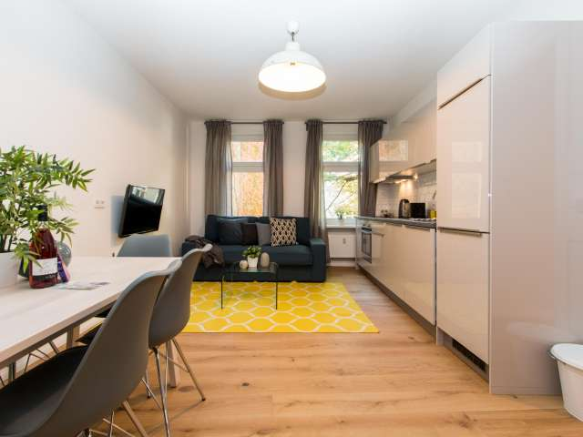 Modern apartment with 2 bedrooms for rent in Moabit, Berlin