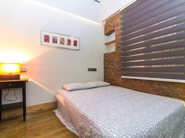 Wunderschön eingerichtete 1 Schlafzimmer Wohnung zur Miete in Madrid