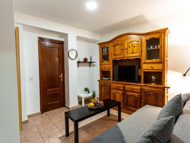 1-Zimmer-Wohnung zur Miete in La Latina, Madrid