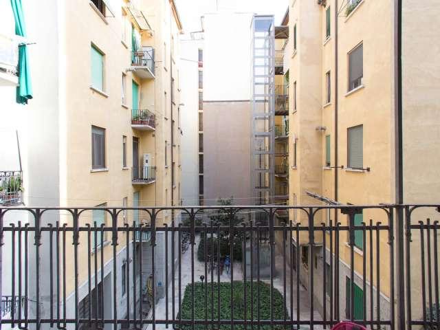 Bellissimo appartamento con 1 camera da letto in affitto a Citta Studi, Milano