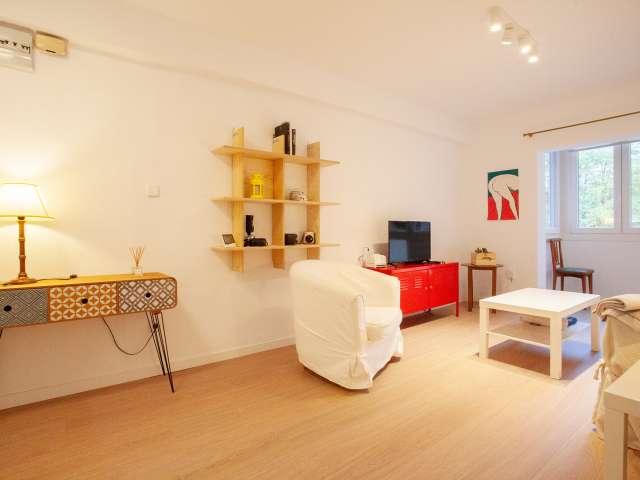 Schicke 2-Zimmer-Wohnung zur Miete in Príncipe Pío, Madrid