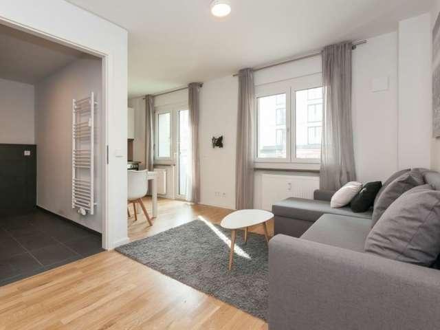 Wohnung mit 1 Schlafzimmer zu vermieten in dynamischen Mitte, Berlin