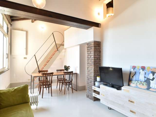 1-bedroom flat for rent in central Monti, Rome