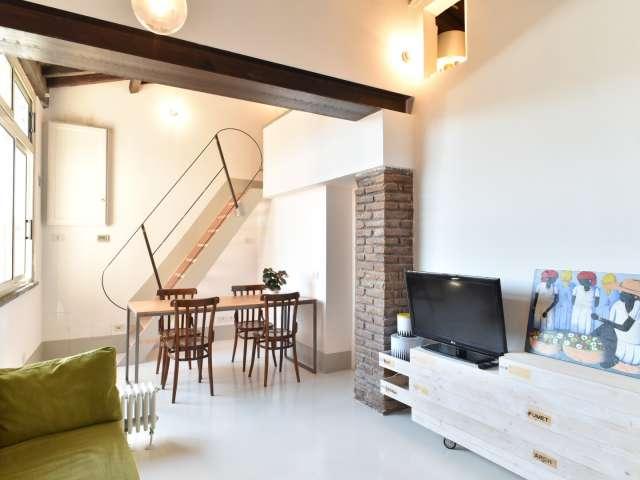 Appartamento con 1 camera da letto in affitto nel centro di Monti, Roma