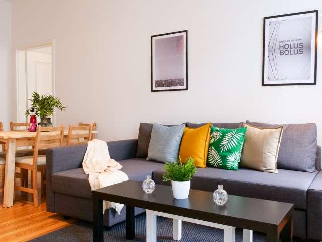 Stilvolles Apartment mit 3 Schlafzimmern zu vermieten in Charlottenburg