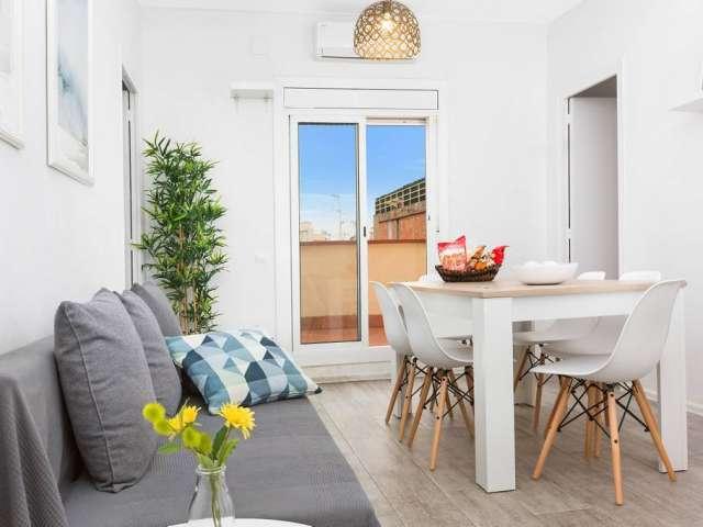 2-Zimmer-Wohnung zur Miete in Eixample Dreta, Barcelona