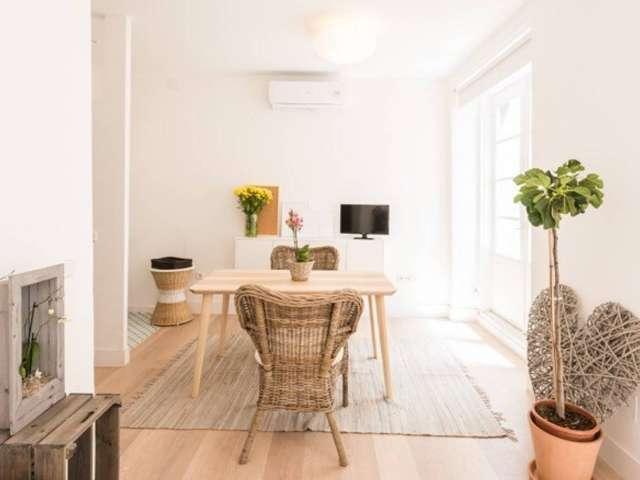 Helle Studio-Wohnung zu vermieten in La Latina, Madrid