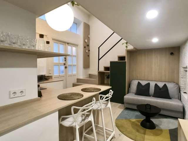 Schickes Studio-Apartment zur Miete in La Latina, Madrid