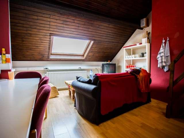 Interior room in apartment in Diegem, Brussels