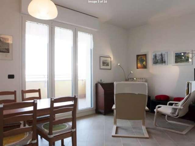 Cozy 2-bedroom apartment for rent in Lambrate, Milan
