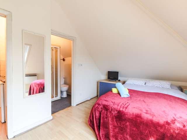 Bright studio apartment for rent in Mapesbury, London