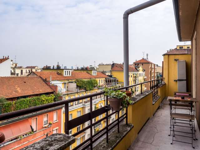 Studio apartment with balcony for rent in Washington, Milan