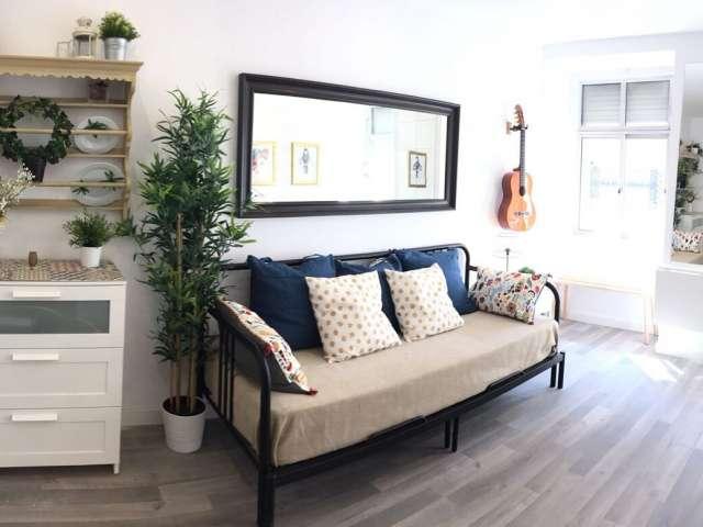 Bonito apartamento de 1 quarto para alugar em Misericórdia, Lisboa