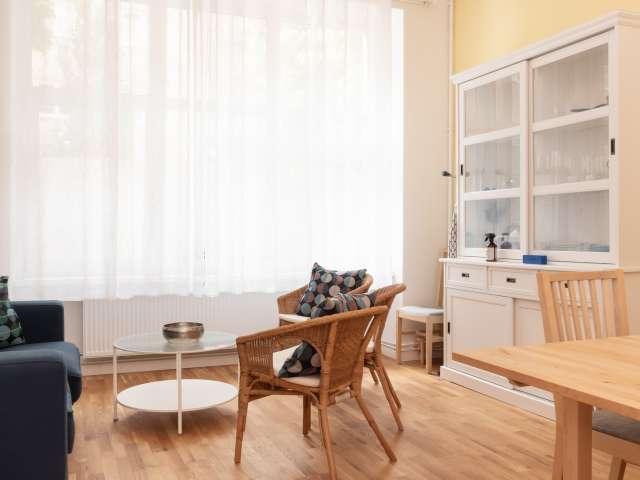 Ruhige Wohnung mit 2 Schlafzimmern in Neukölln, Berlin zu vermieten
