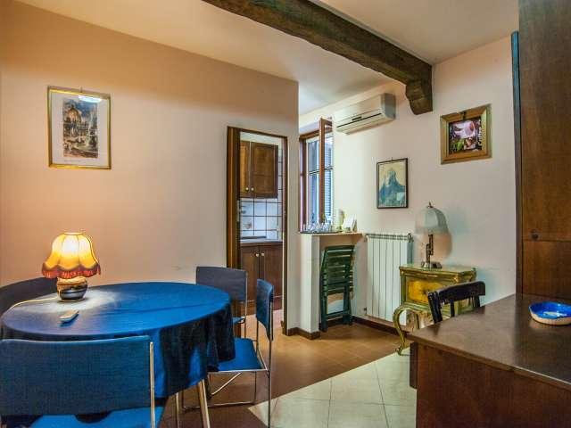 Luminoso appartamento con 1 camera da letto in Centro Storico, Roma