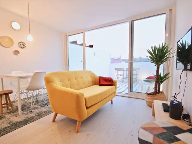 Great 2-bedroom apartment for rent in Campo de Ourique