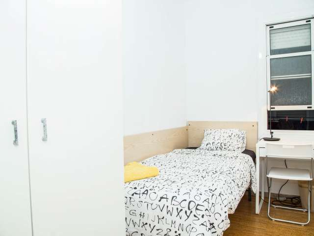 Furnished room in shared apartment in Poblenou, Barcelona