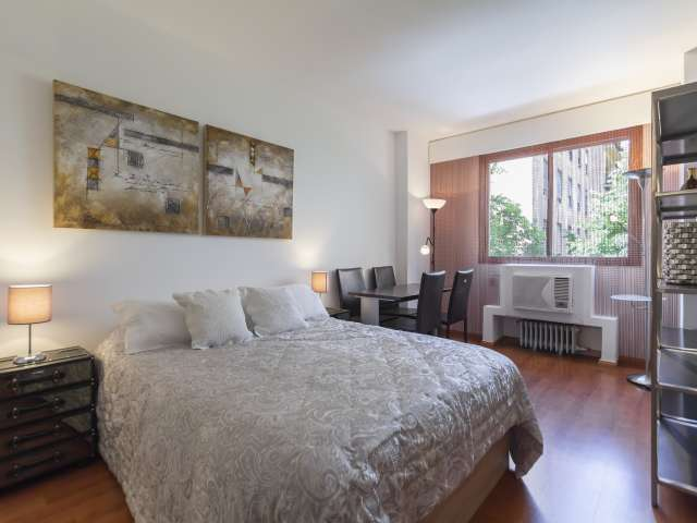 Chic studio apartment for rent in Moncloa, Madrid