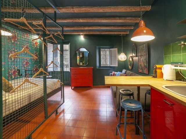 Atrevido estudio en alquiler en Barri Gòtic, Barcelona