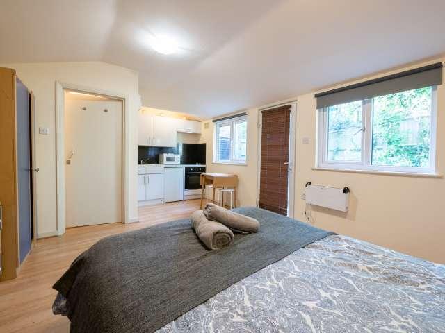 Bright studio apartment to rent in Brent, London