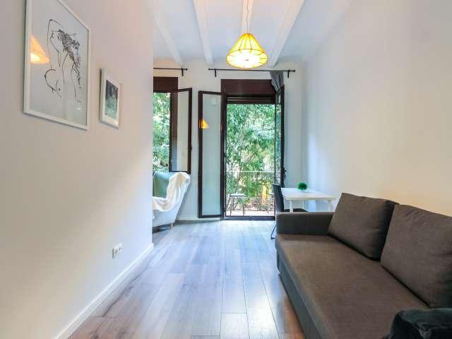 Studio apartment for rent L'Esquerra de l'Eixample Barcelona
