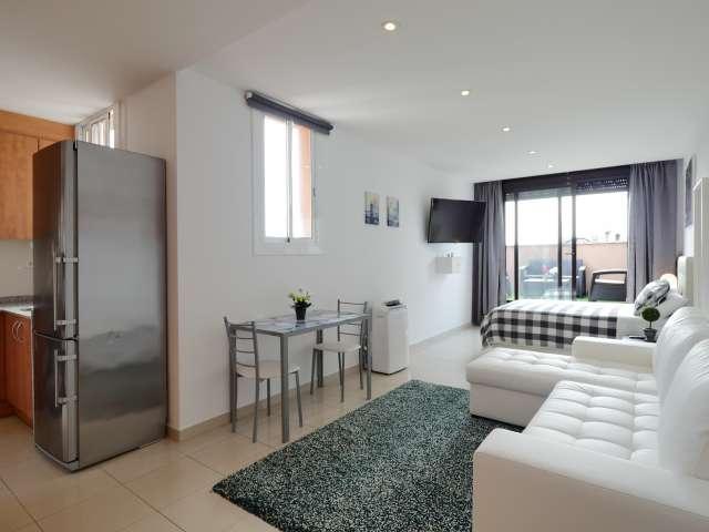 Studio apartment for rent L'Esquerra de l'Example Barcelona