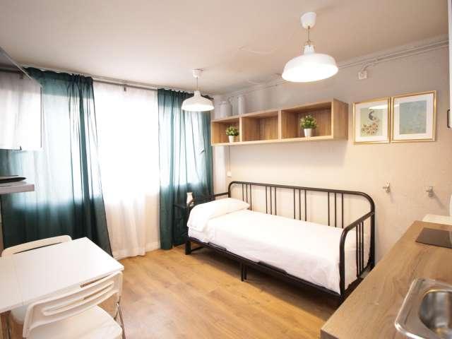 Cosy studio apartment for rent in Sant Andreu, Barcelona