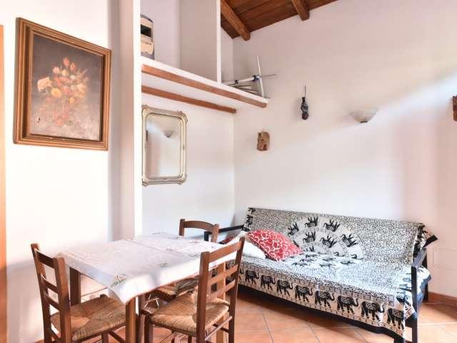 Affascinante appartamento con 1 camera da letto in affitto a Roma