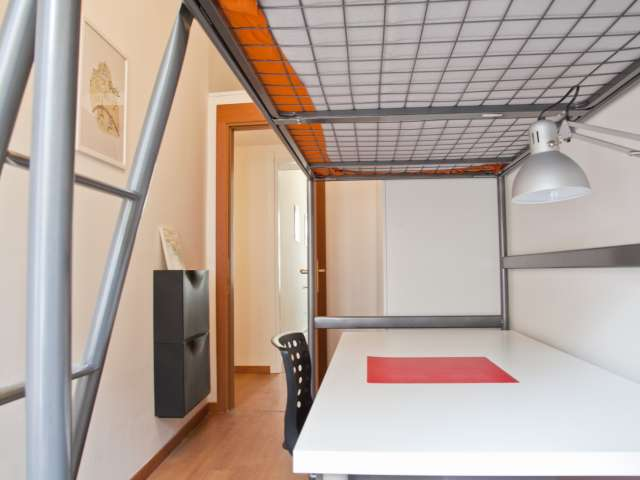 Large room for rent in apartment in Parioli, Rome
